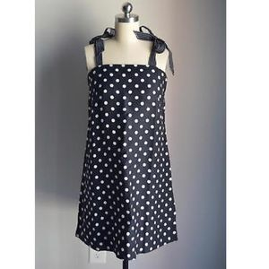 NWT • J. Crew polka dot dress